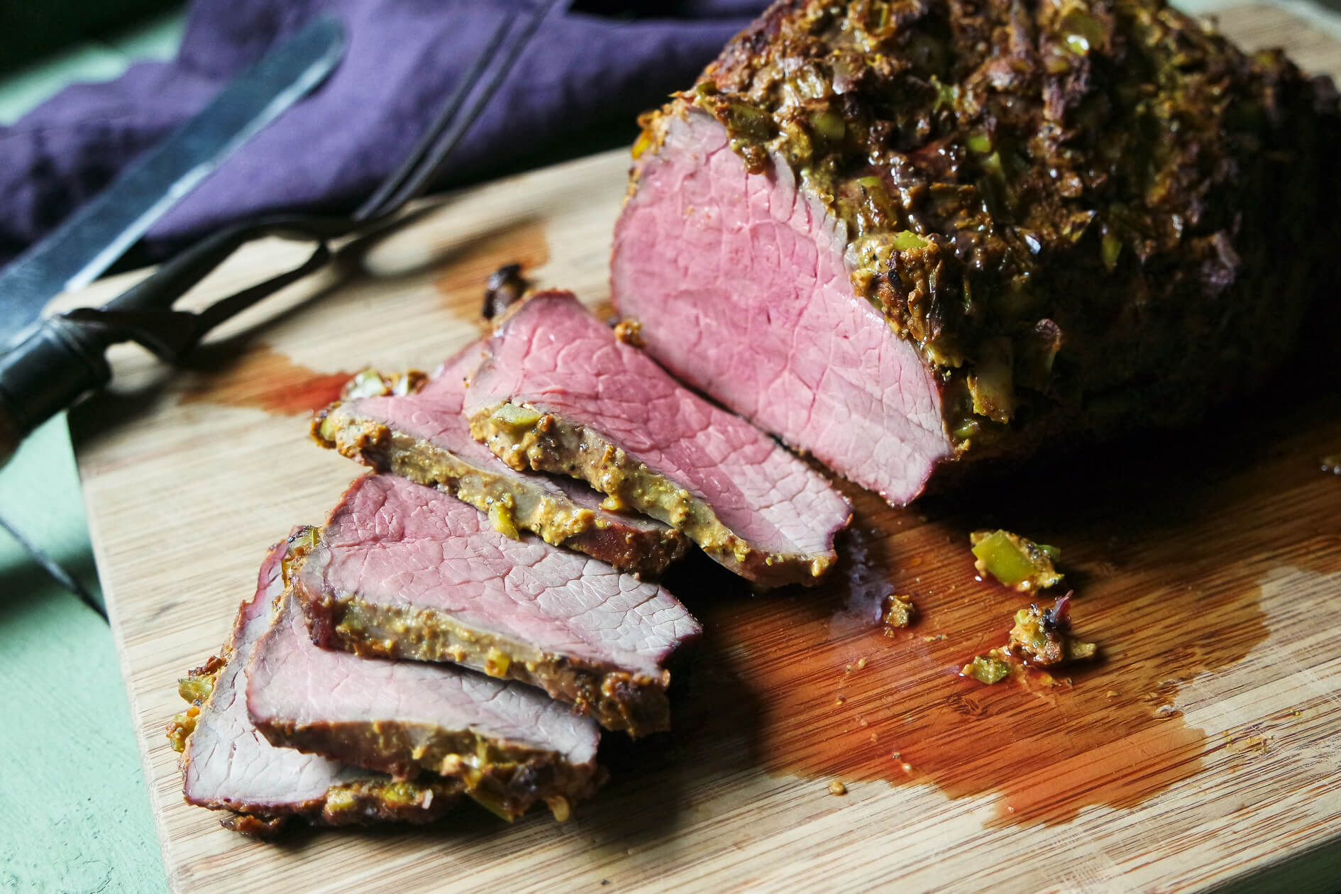 how to make a beef round roast