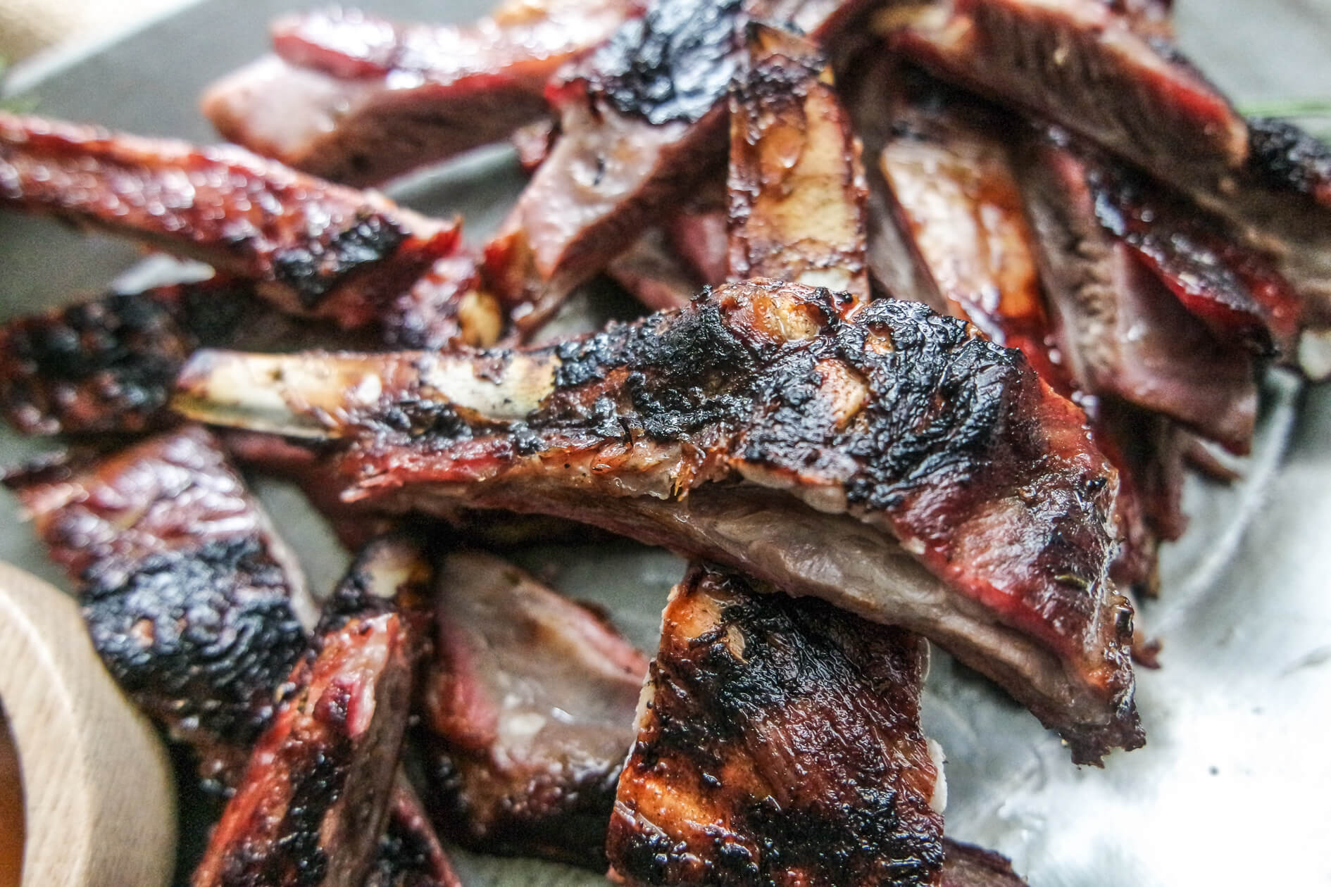 rosemary and garlic lamb ribs recipe