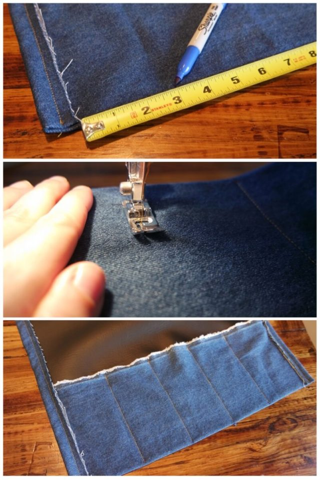 make your own knife roll