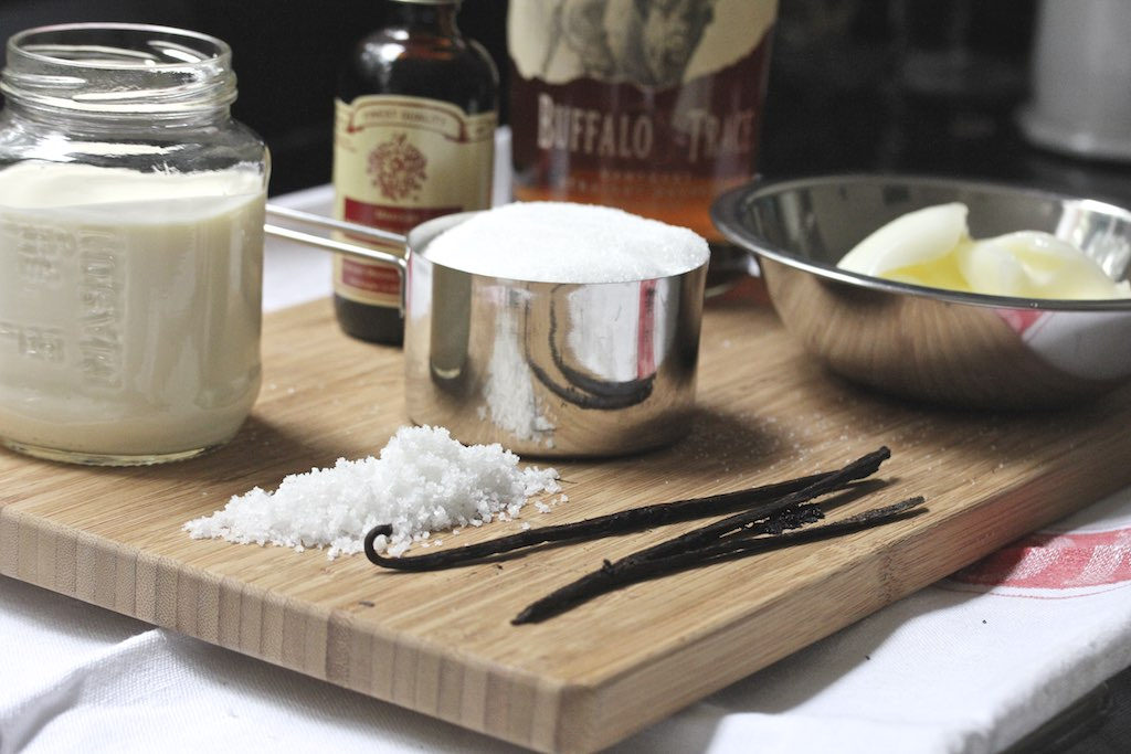 Duck fat caramels with vanilla bourbon recipe