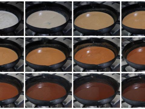 cajun roux color chart