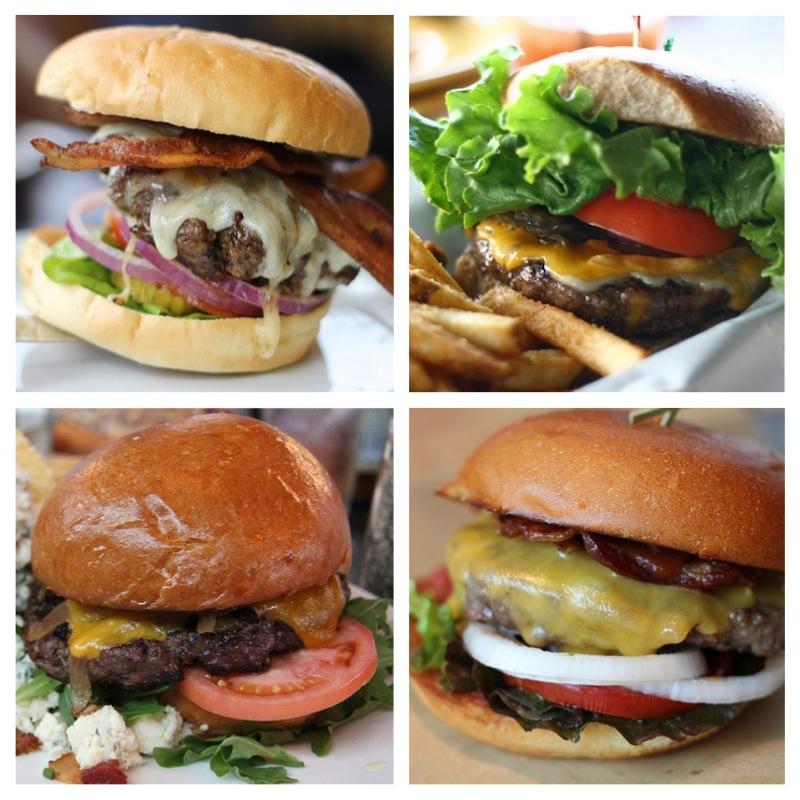 chunky restaurant burgers