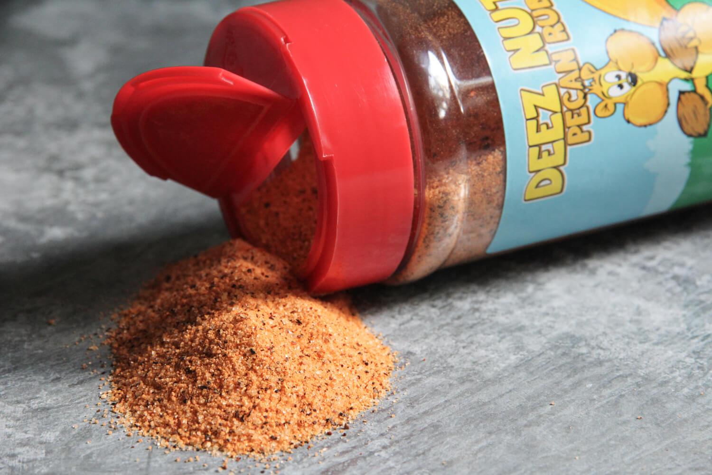 meat church deez nuts bbq rub seasoning bottle