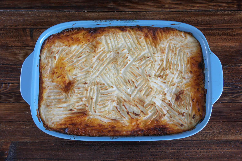 shepherds pie - the best winter comfort food
