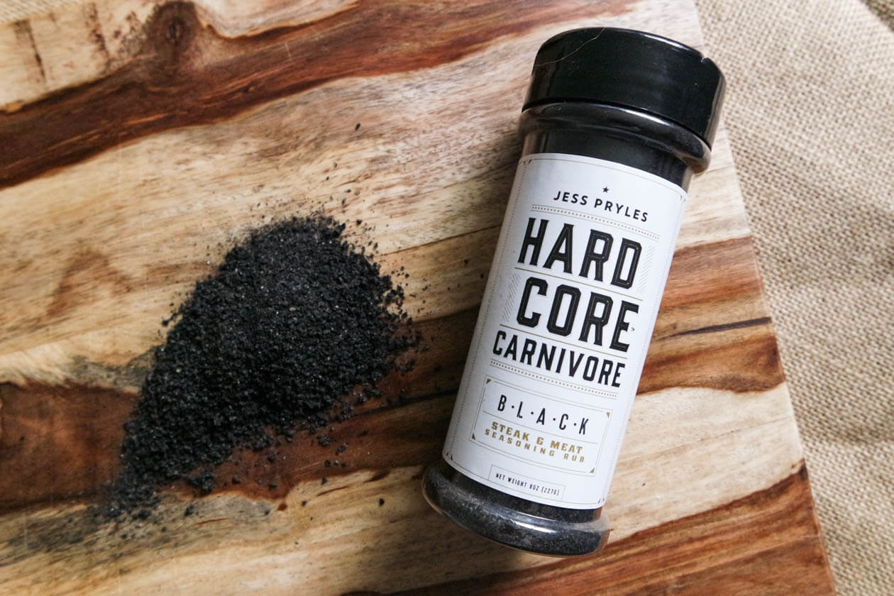 hardcore carnivore charcoal rub