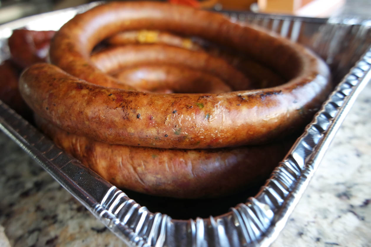 evan leroy's sausage recipe