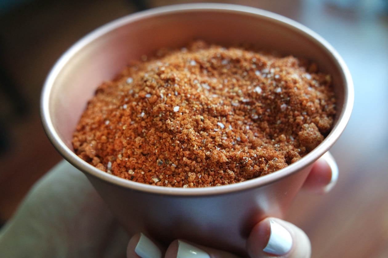 competition bbq pork rub recipe in copper