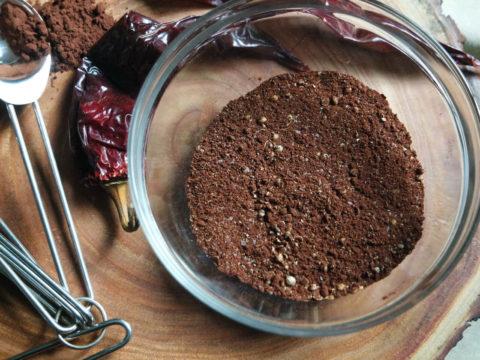 mole negro rub for beef