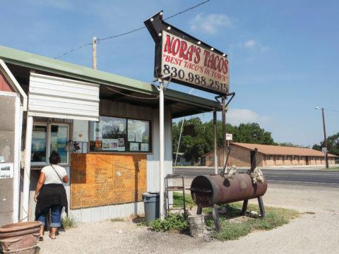 nora's tacos in sabinal texas