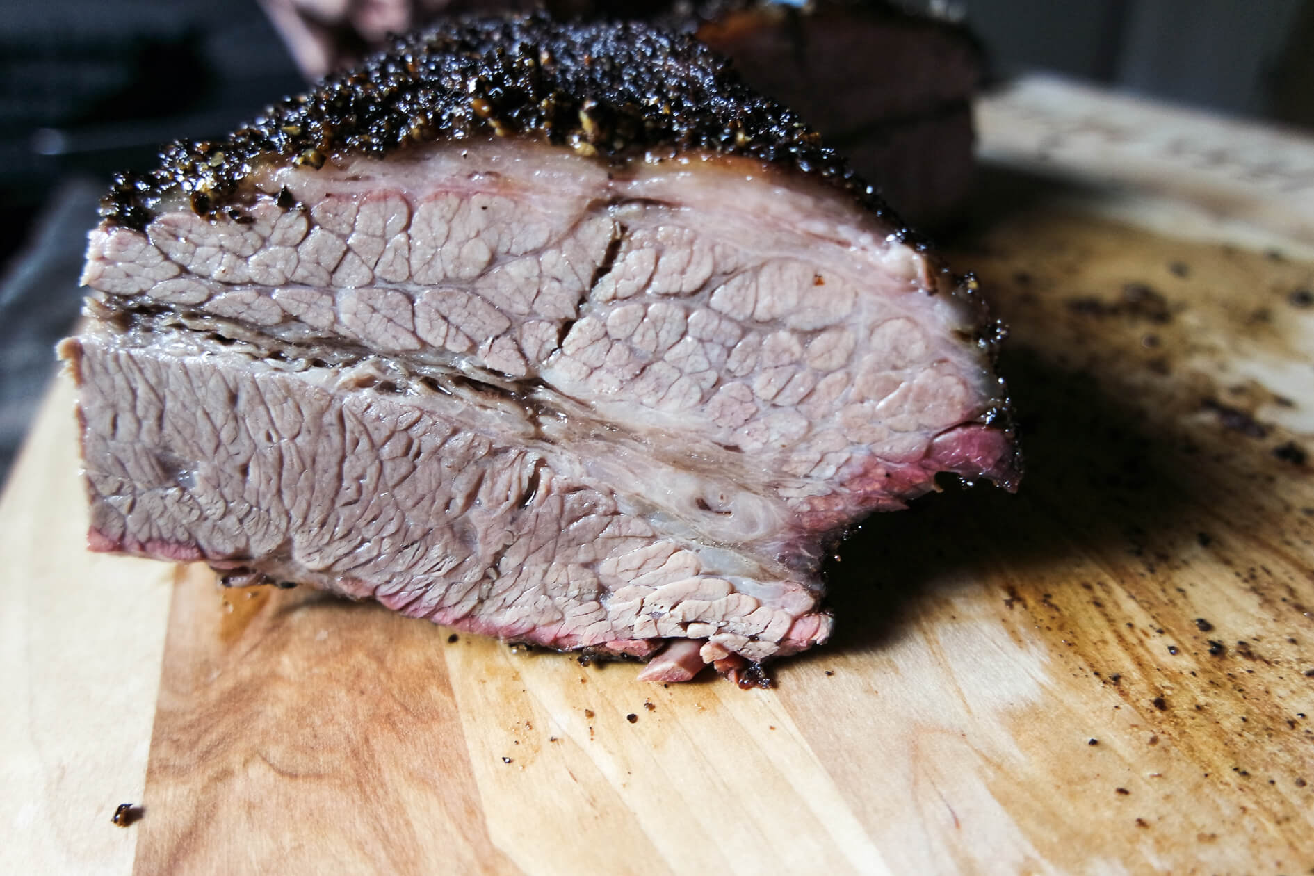 smoked brisket point