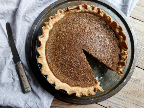 molasses buttermilk pie recipe