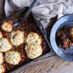 biscuit crust on casserole