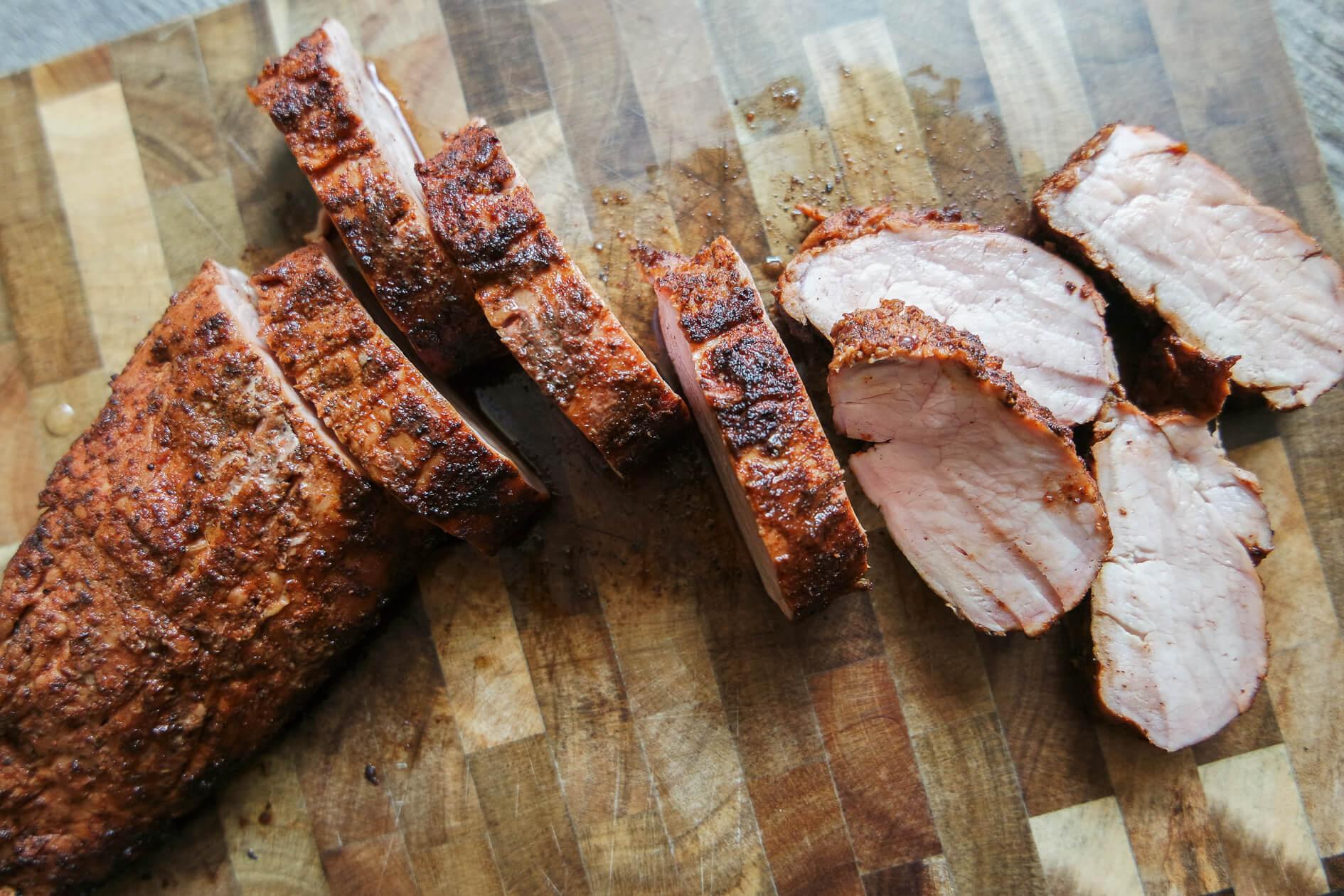 Smoked Apple Cider Pork Tenderloin Jess Pryles