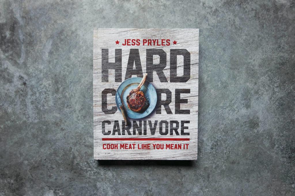 signed hardcore carnivore cookbook