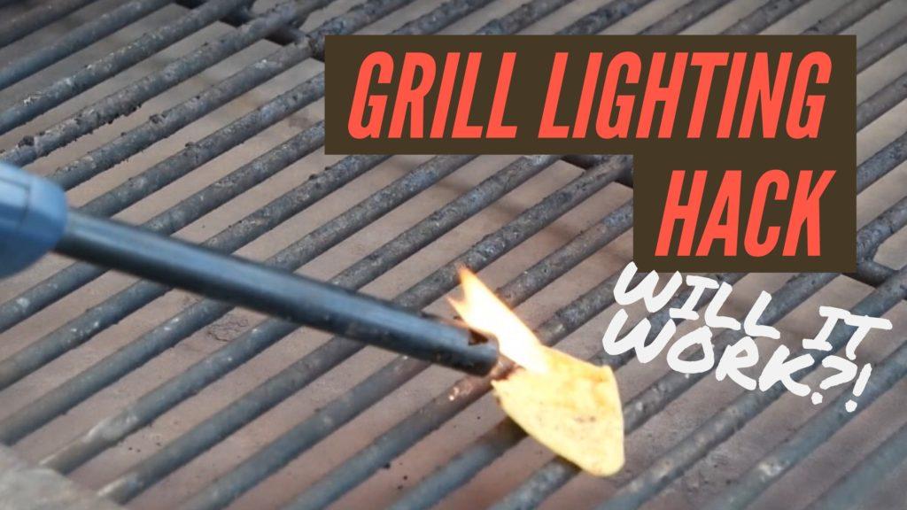 grill lighting hack
