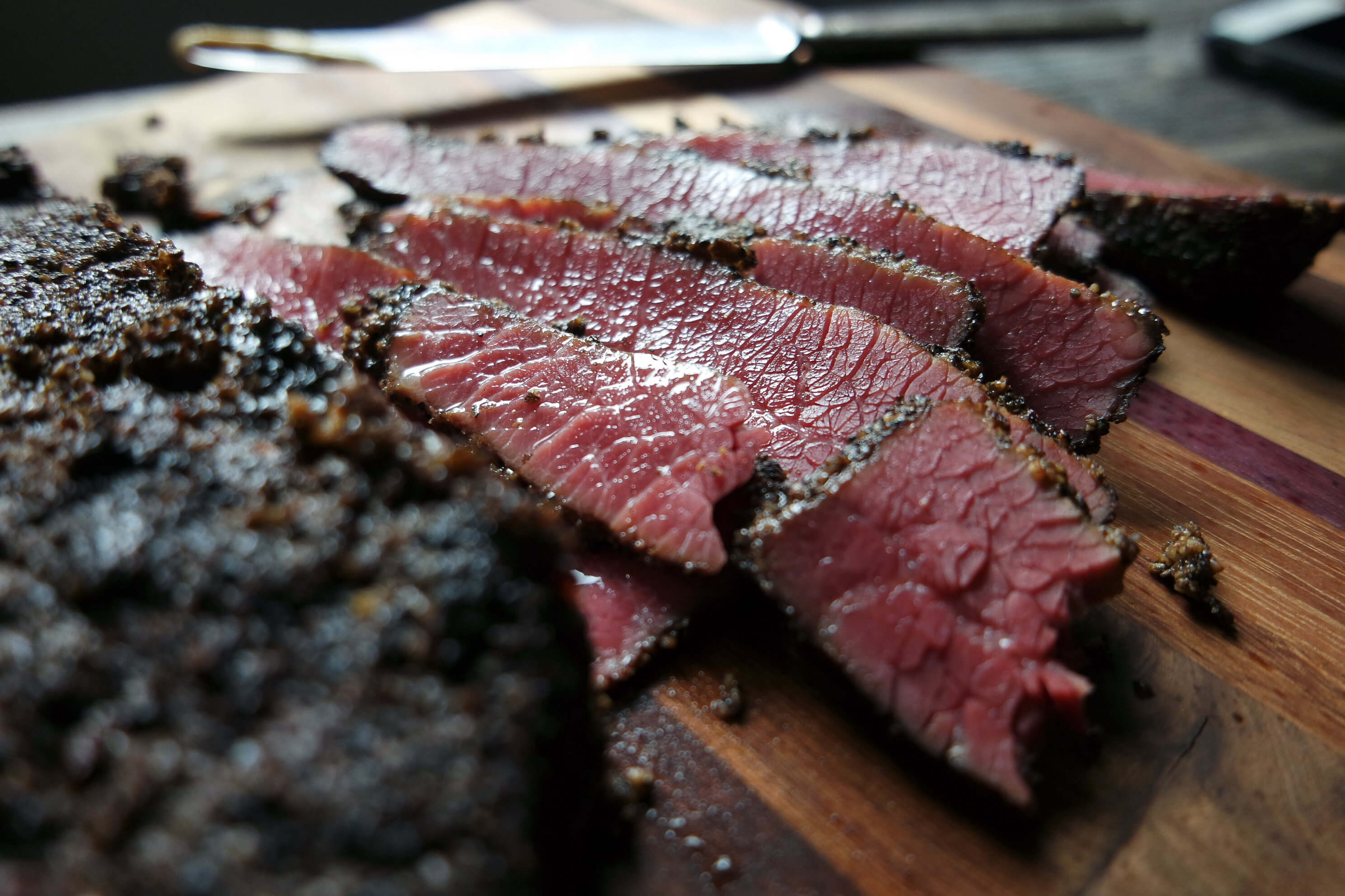 pastrami using brisket flat