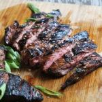medium rare skirt steak