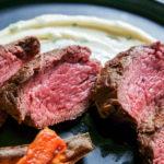 petite lender fullblood wagyu steak, bistro tender