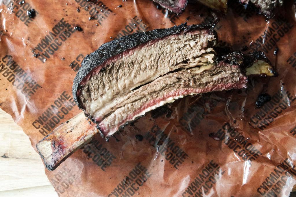 how to smoke beef ribs using Hardcore Carnivore black seasoning