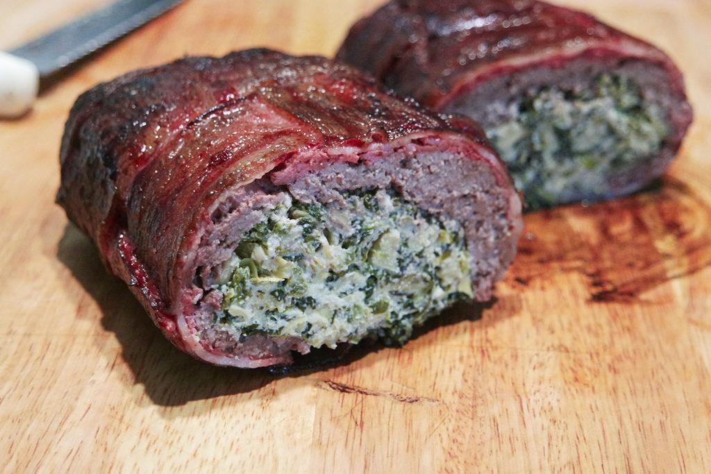 spinach artichoke smoked fatty