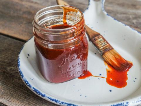 savory caramel rib glaze
