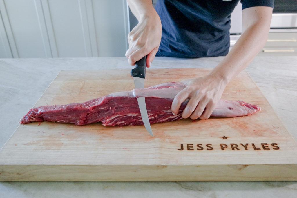 how to butcher a whole tenderloin