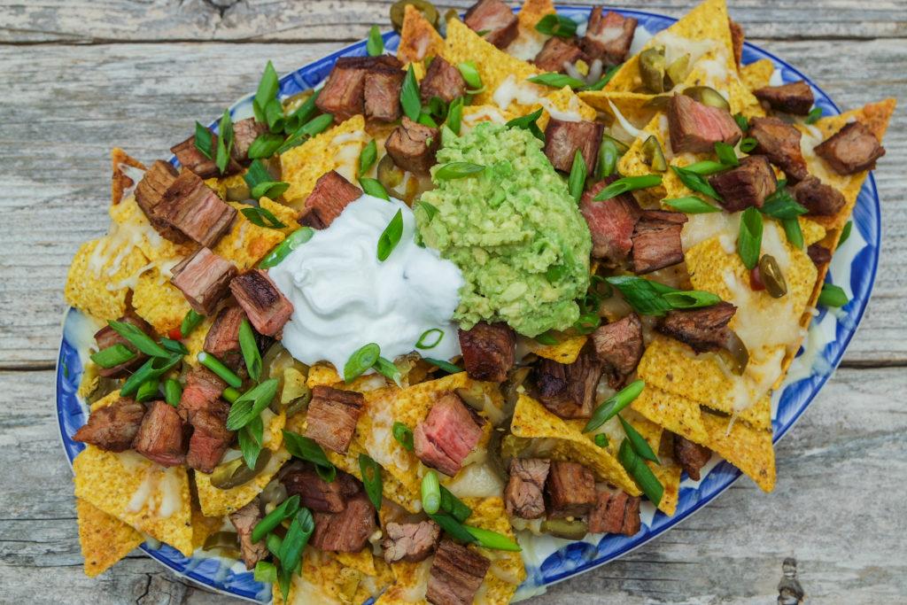 loaded beef fajita nacho recipe