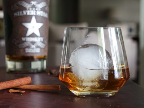 DIY smoked spiced & salted whiskey cocktail