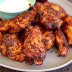 smoke fried wings