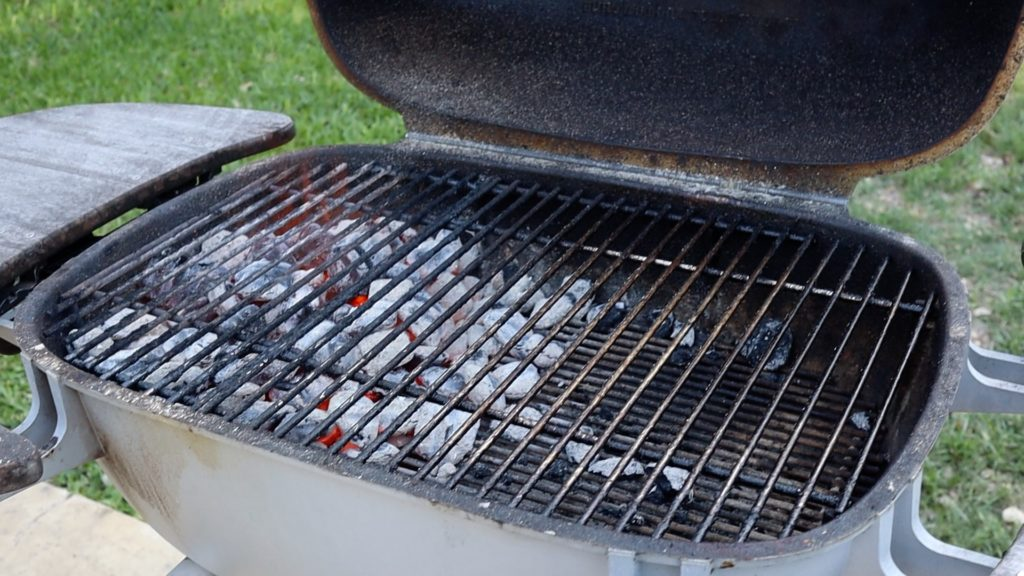 hot grill for JKF cooking