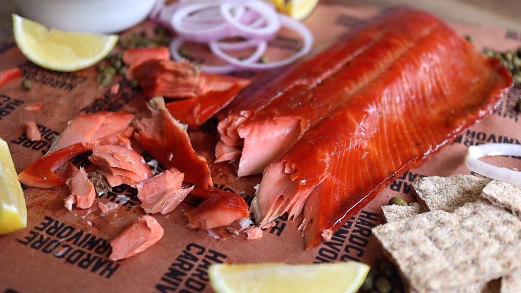 how to make hot smoked salmon