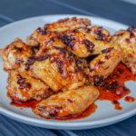 chili crisp honey glazed wings