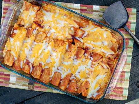 ground venison enchiladas recipe