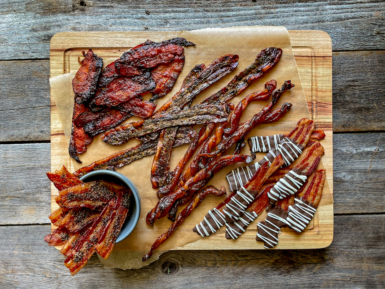 make your own flavored bacon