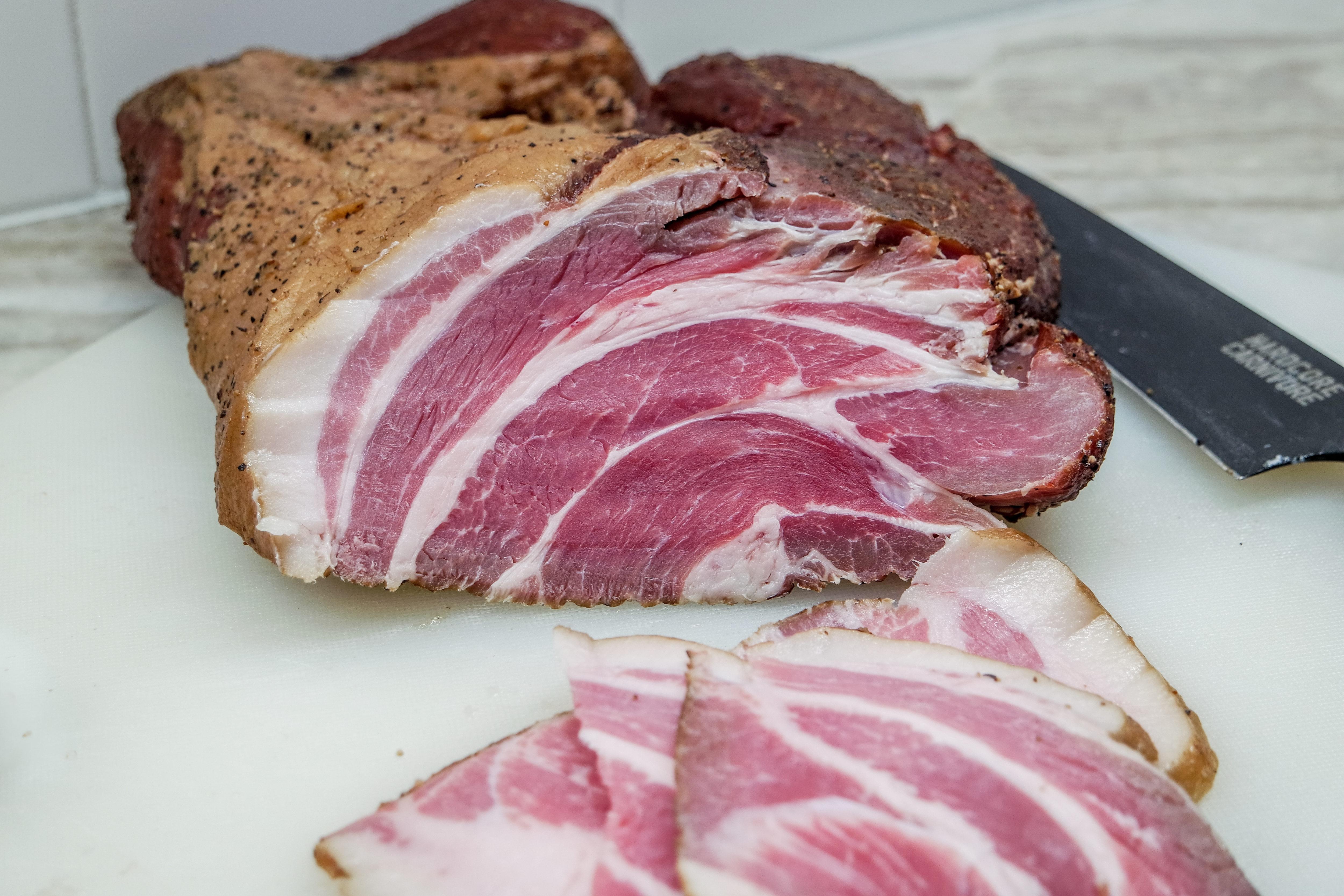 make buckboard bacon out of pork butt