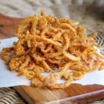 Homemade Fried Onion Strings