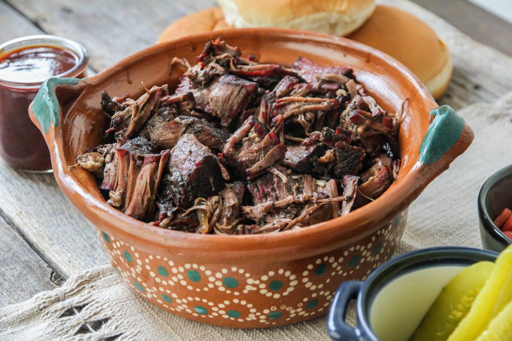 smoked chuck roast texas style