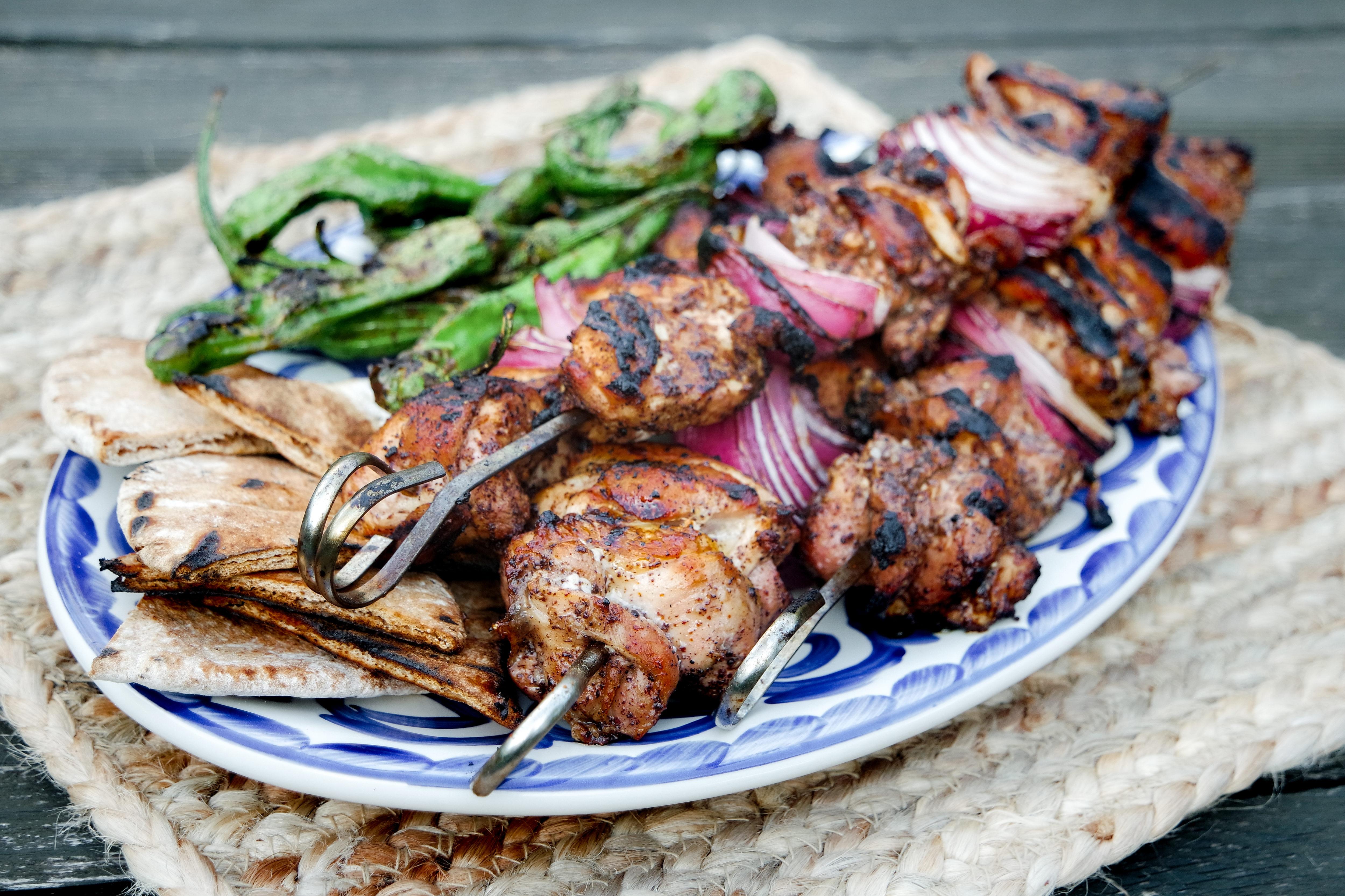 grilled sumac chicken