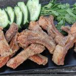 crispy fried ribs