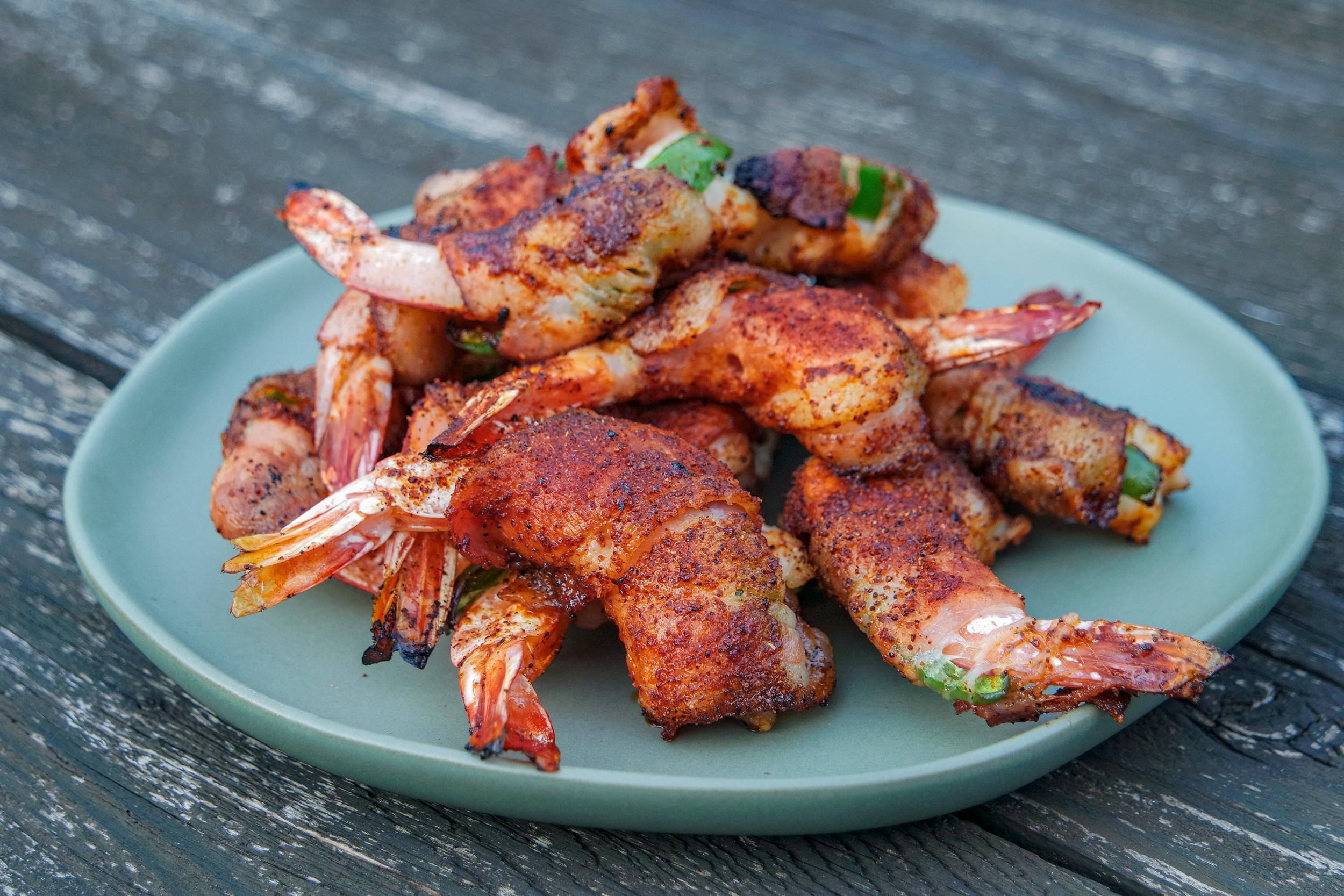 grilled shrimp brochette